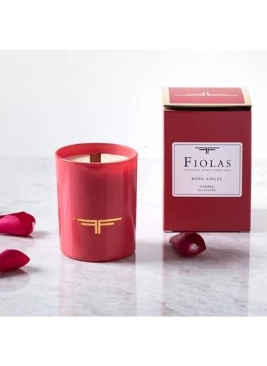 Fiolas FIOLAS ORGANIC ÇIRALI ROSE ANGEL Kırmızı